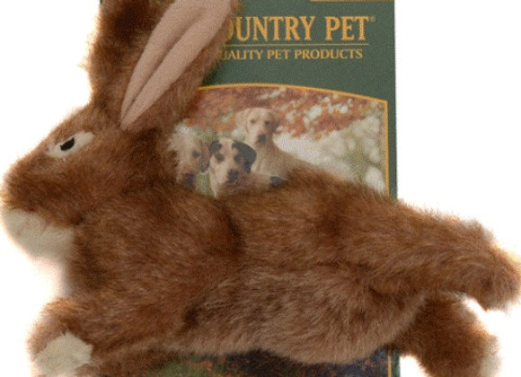 Country Pet Plush Large Rabbit Dog Toy