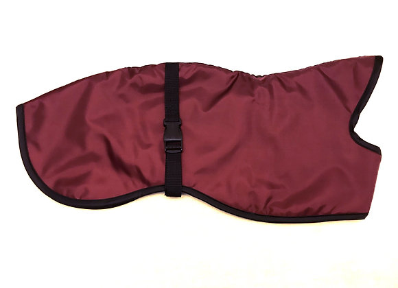 Whippet Raincoat Burgundy