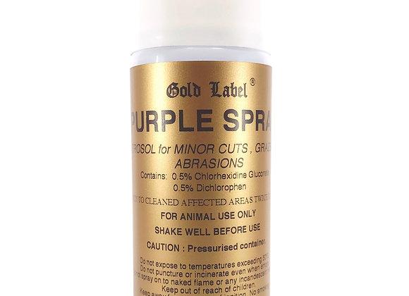 Gold Label Purple Spray Aerosol 200ml