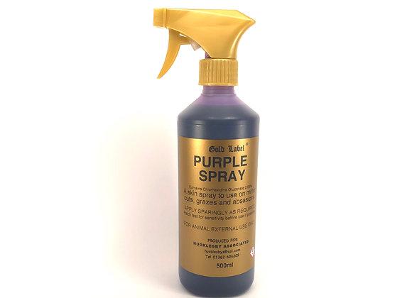 Gold Label Purple Spray 500ml