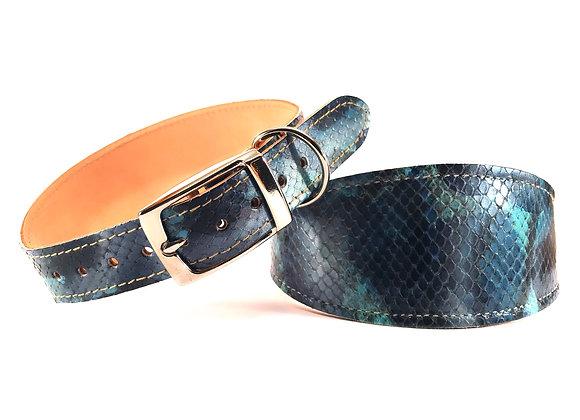 Greyhound Leather Lined Collar 'Maddison'