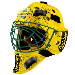Der Vienna Capitals Torwart-Helm.
