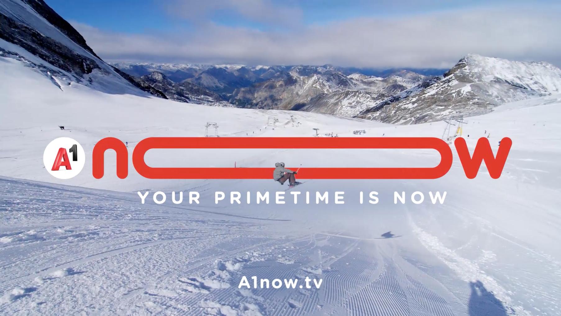 Claim für A1now.tv