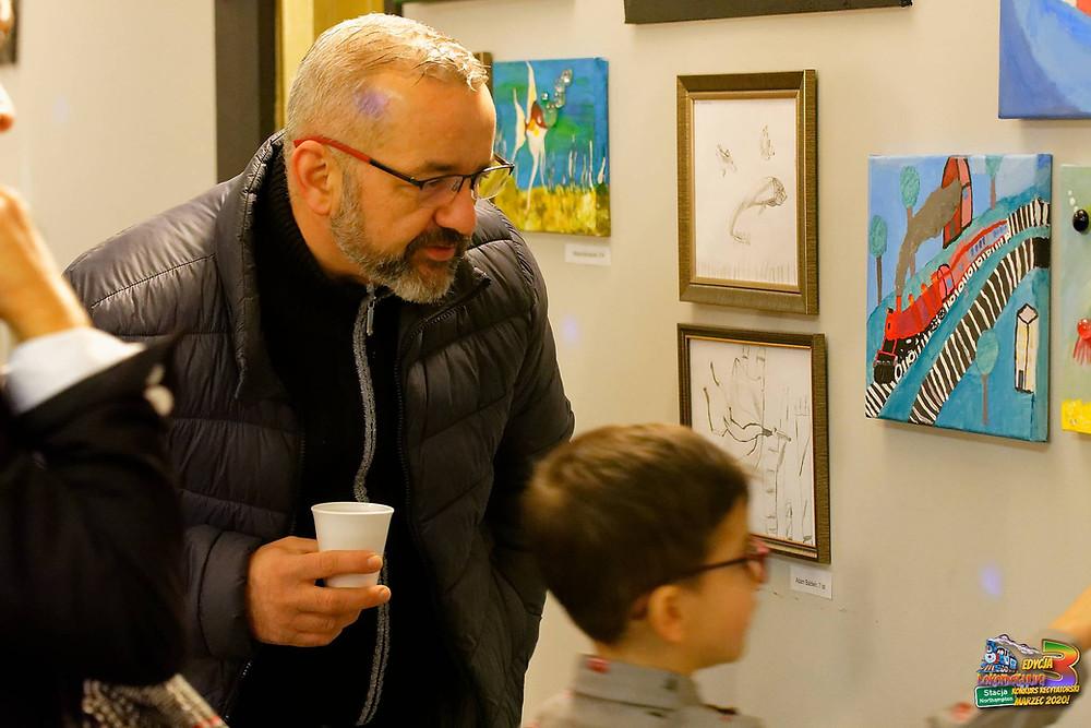 Prezentacja prac plastycznych dzieci i młodzieży z Art Classes - III Edycja Konkursu Lokomotywy!