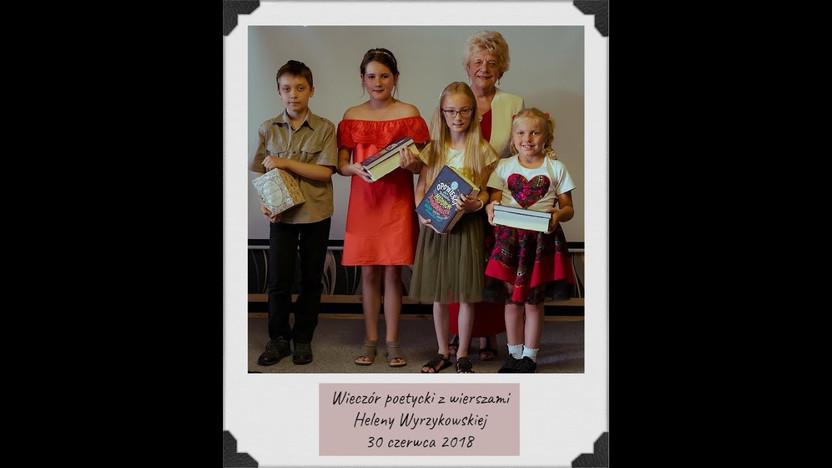 Wieczór z poezją Heleny Wyrzykowskiej - Część 1 (skrót)