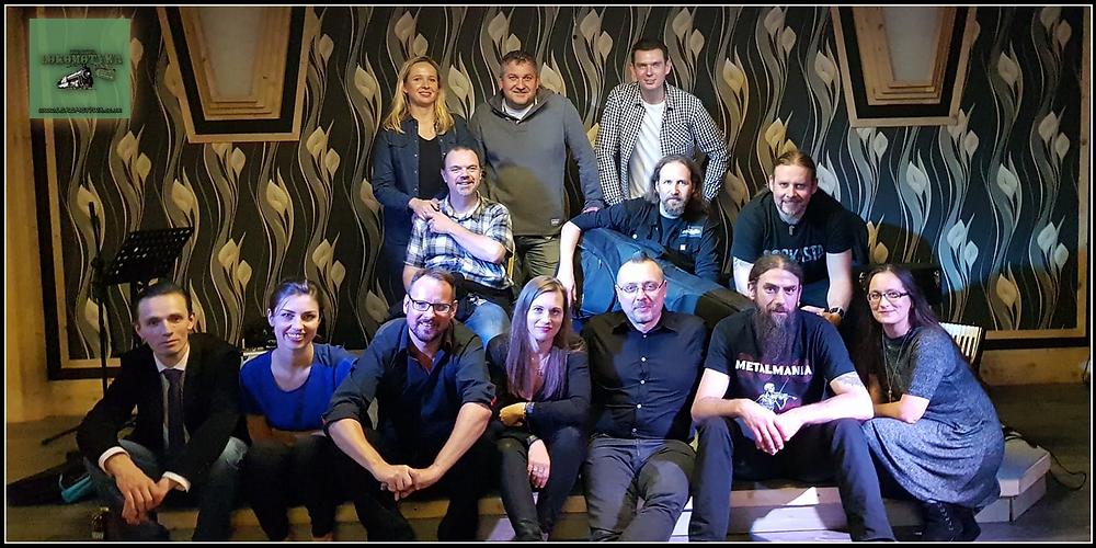 Zespół Pan Górski i SPółka z Ekipą Inicjatywy Lokomotywy i Przyjaciółmi Coventry