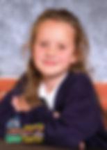 """Sophie, lat 7 z wierszem """"Sophie Know-it-all"""" (""""Zosia Samosia"""")Juliana Tuwima"""