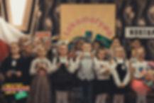 Recytatorzy w kategorii od lat 6 - 8, Lily, Nicola, Oscar, Julia, Maja, Alicja, Julia, Karolina, Michał, Amanda, Maja, Fatima, Luiza, Sara i Nikola