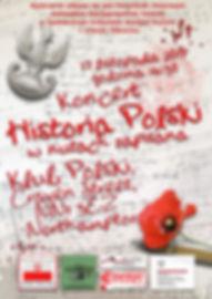 "Koncert ""Historia Polski w nutach zapisana"" - plakat 4"