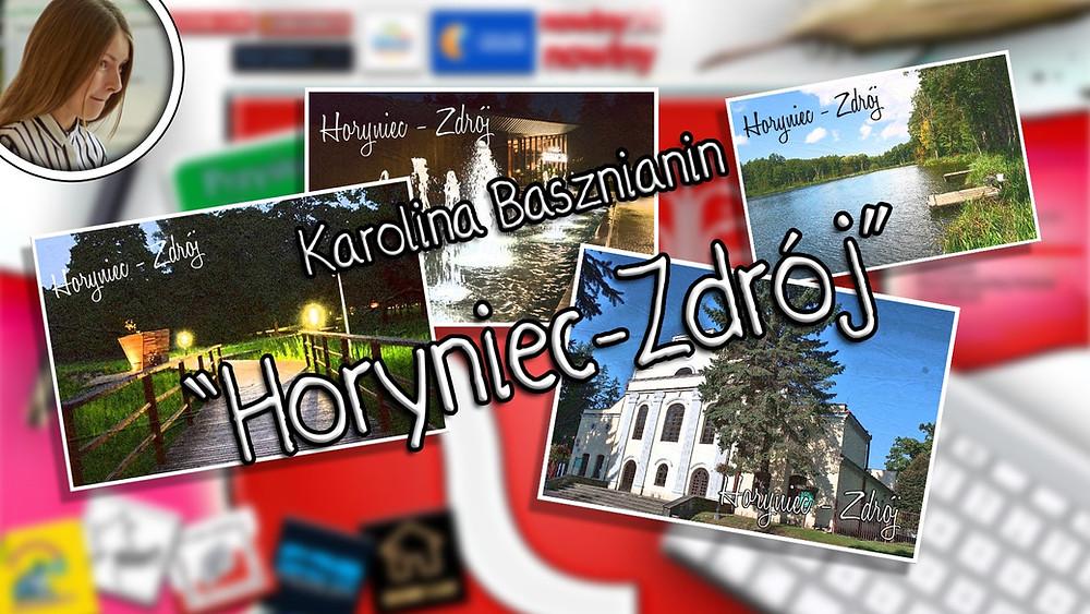 """""""Horyniec-Zdrój"""", Karolina Basznianin, """"Co w sercu, to na papierze"""", III miejsce w kat. do lat 17."""