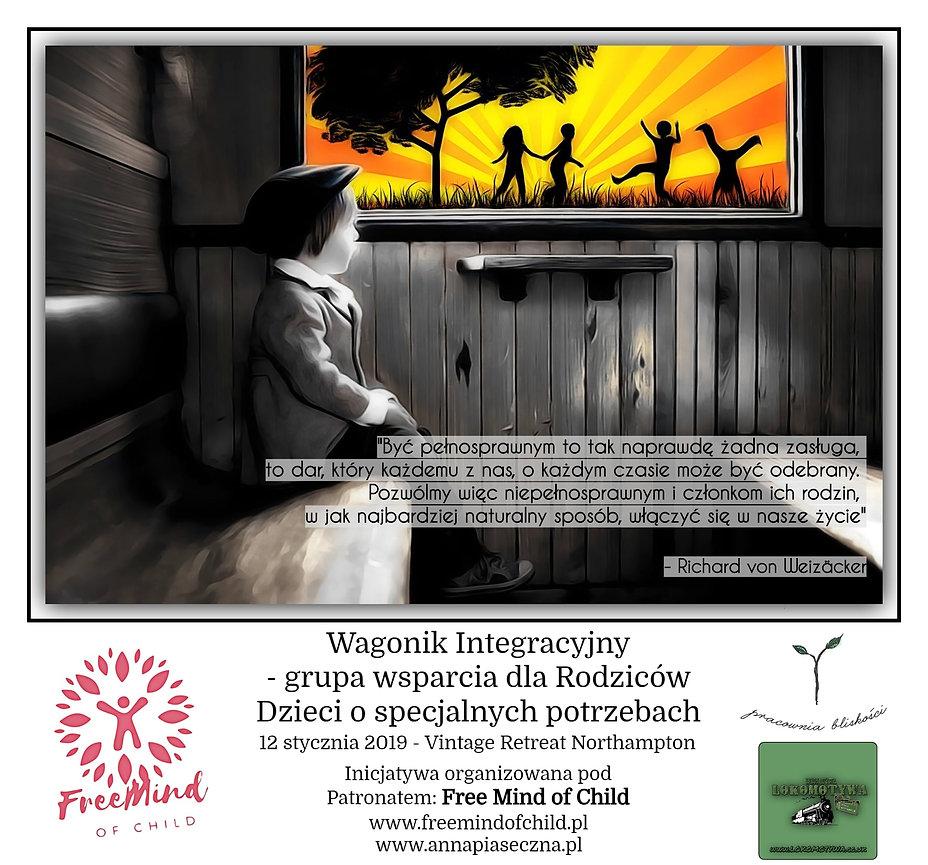 Wagonik Integracyjny - grupa wsparcia dla Rodziców Dzieci o specjalnych potrzebach