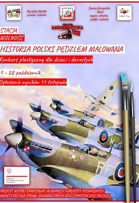 """Konkurs Plastyczny - """"Historia Polski Pędzle Malowana"""" - plakat 3"""