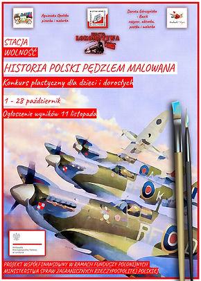Historia Polski Pędzlem Malowana - Plakat 3