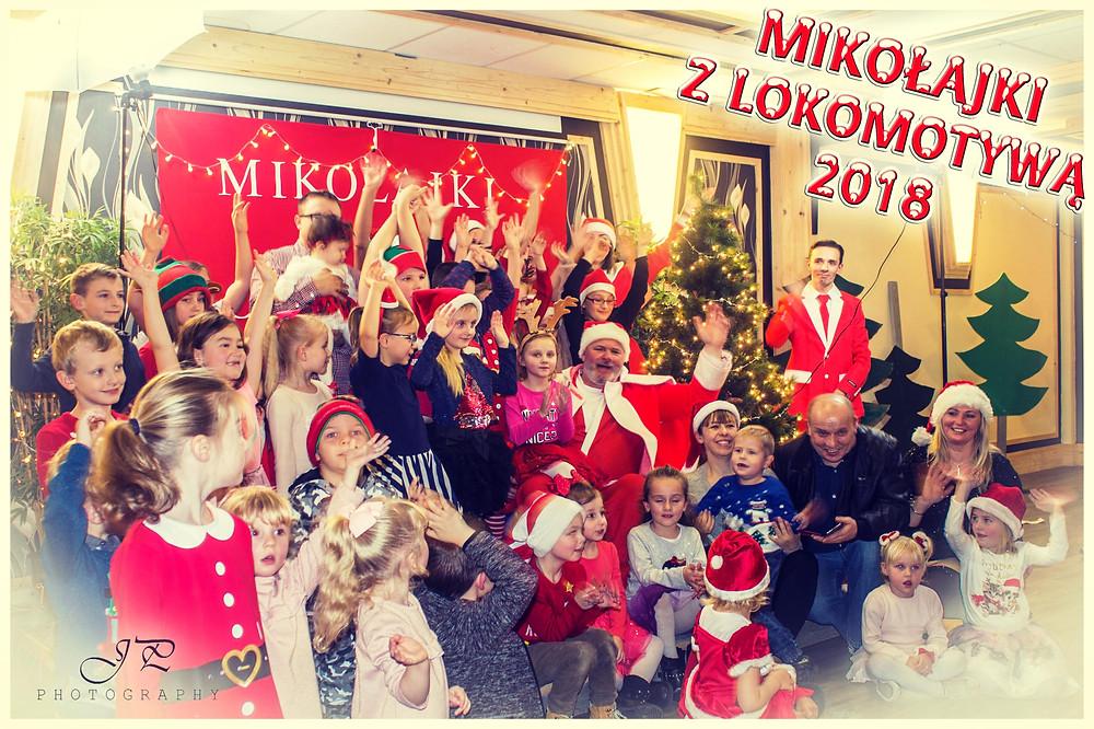 Fotorelacja z Mikołajków z Lokomotywą - część 3 - Spotkanie ze Świętym Mikołajem