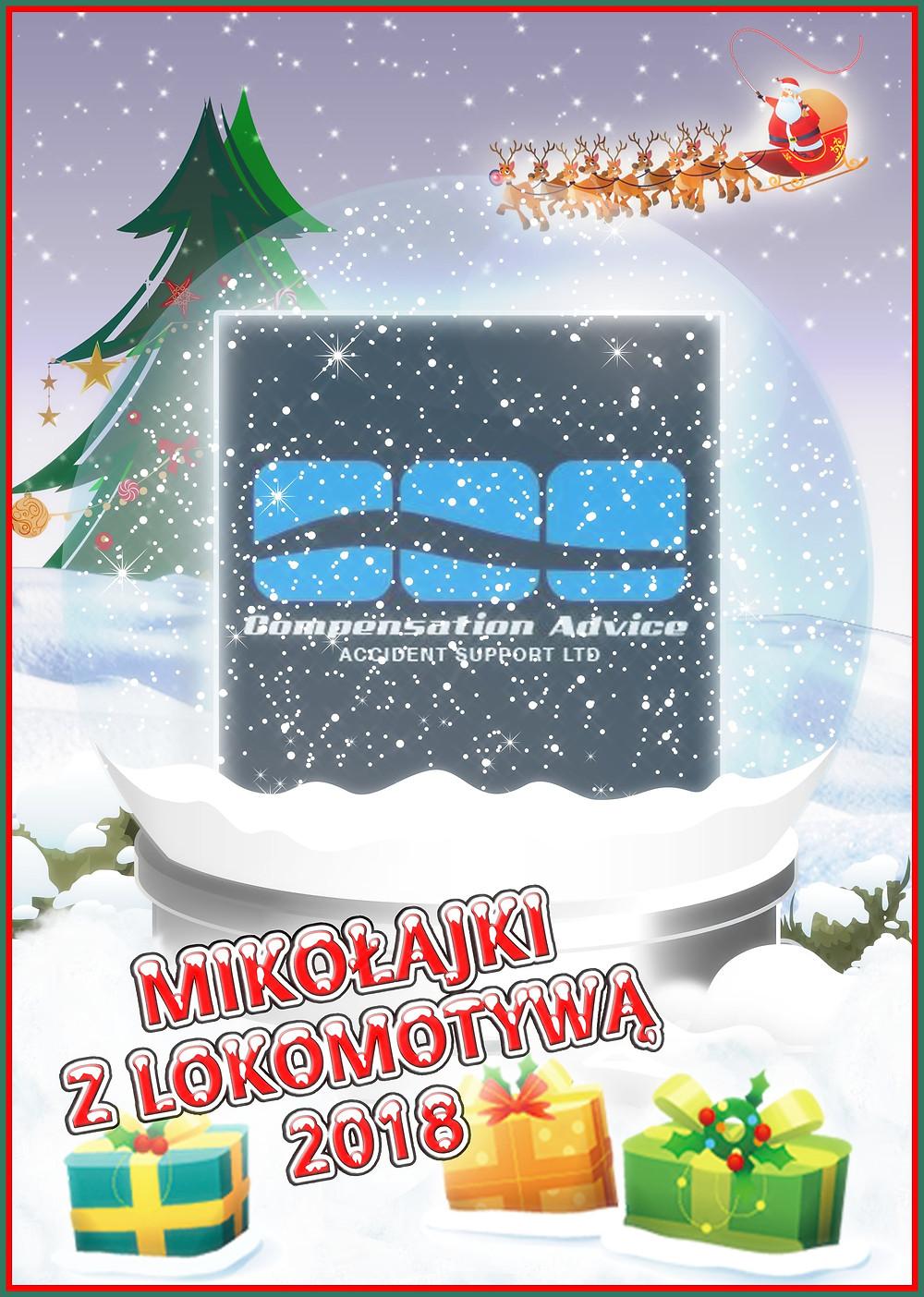 Sponsor dodatkowych Niespodzianek w Mikołajkach z Lokomotywą 2018