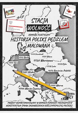 """Konkurs Plastyczny - """"Historia Polski Pędzle Malowana"""" - plakat"""