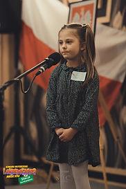 """Hania, lat 5 recytuje wiersz """"Skarżypyta"""", Jana Brzechwy"""
