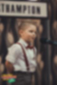 """Olaf, lat 4 w trakcie recytacji wiersza """"Wacuś"""", Agnieszki Frączek"""