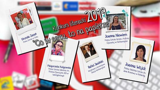 """Jury Konkursu literackiego - """"Co w sercu, to na papierze"""" - Kategorie dla Dzieci i Młodzeży w Polsce"""