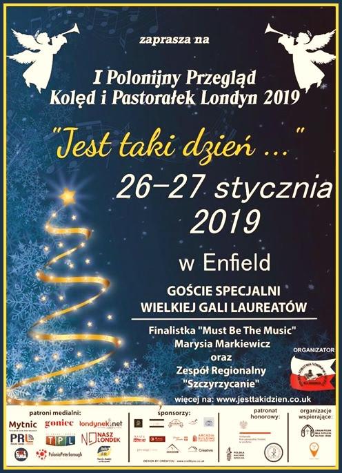 """I Polonijny Przegląd Kolęd i Pastorałek """"Jest Taki Dzień"""""""