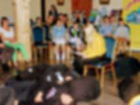 """Grupa Teatralna """"Bez nazwy"""" - Spektakl """"Wirtualni"""", Northampton, 15.06.2019, foto. Jerzy Pawłowski"""