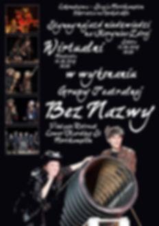 "Poster - Grupa Teatralna ""Bez Nazwy"""