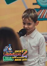"""Leon, lat 5 zwierszem """"StefekBurczymucha"""" Marii Konopnickiej"""
