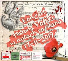 """Koncet """"Historia Polki w nutach zapisana"""" - plakat 1"""