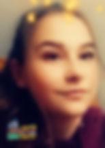 """Alicja, lat 12 z wierszem """"Najpiękniejszy sen"""" Marii Pawlikowskiej-Jasnorzewskiej"""