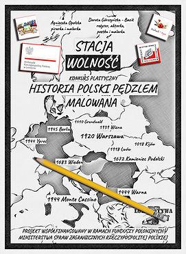 Staca Wolność - Historia PolskiPędzlem Malowana (plakat 2)
