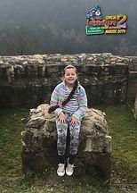 """Izabela, lat 9 z wierszem """"Samochwała"""" Jana Brzechwy"""