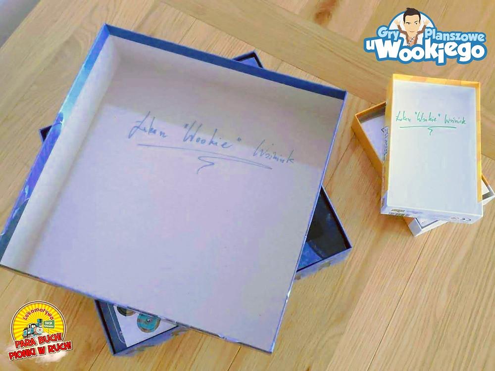 ...i Gier Planszowych u Wookiego z autografami twórcy!