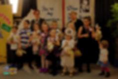 Aleksander, Adam, Liliana, Sophie, Oscar, Nadia, Lidka, Luiza, Sara z Jurorkami