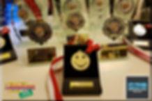 Medale i statuetki dla Laureaów ufundowane przez Compensation Advice Ltd.