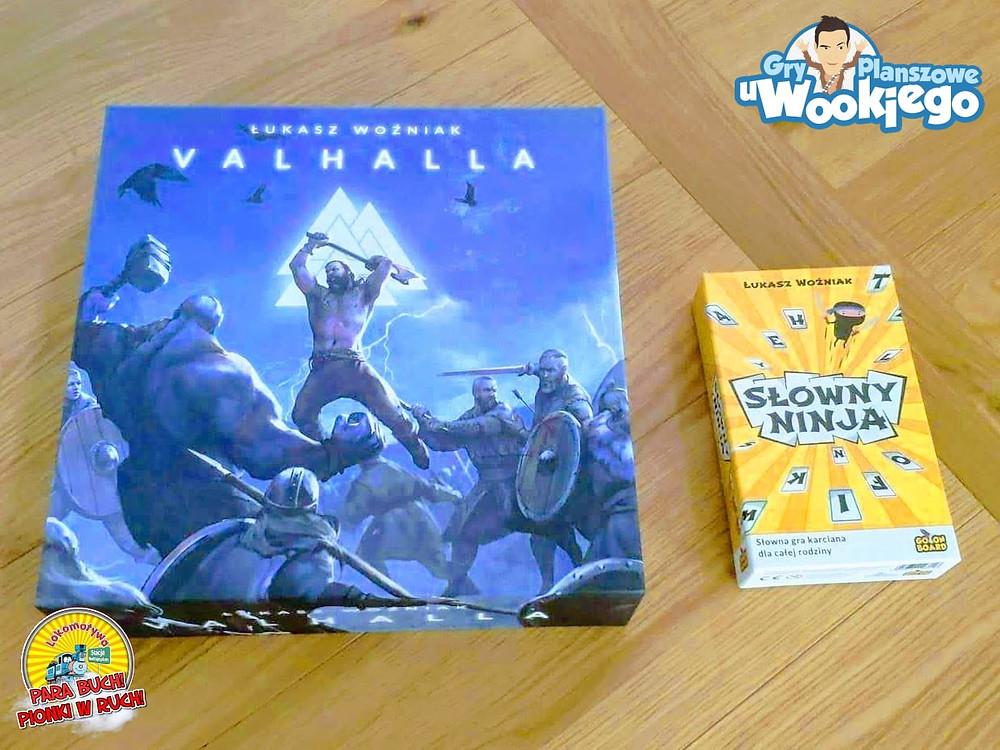"""Gra """"Valhalla"""" i gra karciana """"Słowny Ninja"""" z Go On Board..."""