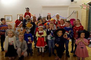 Tego właśnie dnia dzieci miały okazję spotkać się ze Świętym Mikołajem...
