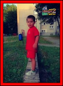 """Kacper, lat 5 z wierszykiem """"Abecadło"""" Juliana Tuwima!"""