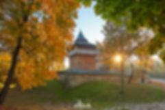Cerkiew św. Paraskewy w Radrużu, wpisana na Listę Światowego Dziedzictwa UNESCO, gmina Horyniec-Zdrój