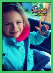 Siedmioletnia Julka Z Leicester Z Wierszem Kruk I Lis