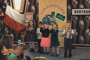 Mali Recytatorzy z I Kategorii wiekowej Konkusu: Hania, Leoś, Anna Nadia, Zosia, oraz Olaf