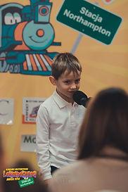 """Leoś, lat 4 recytujący wiersz """"Lody"""", Małgorzaty Mrózek - Dąmbskiej"""