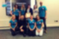 Zespół Wagonika, Blue Team i Pani Patrycja Gołąbek Jonak.