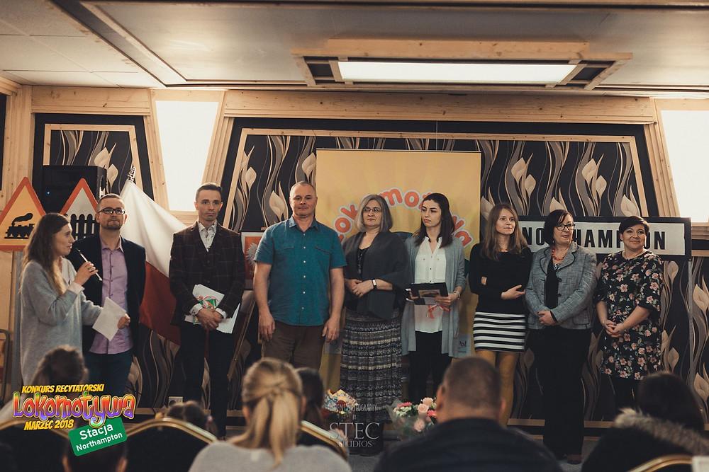 Jurorzy pierwszej edycji Konkursu Recytatorskiego Lokomotywy (2018)