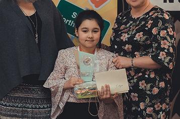 Fatima Ahmed - Zdobywczyni II Miejsca w kategorii od lat 6 - 8