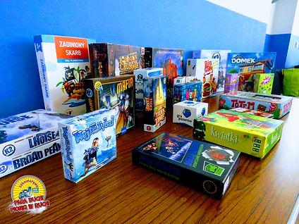 Ogromna partia gier -w które zagrać mogli mali i duzi - dotarła do nas od naszych Sponsorów!