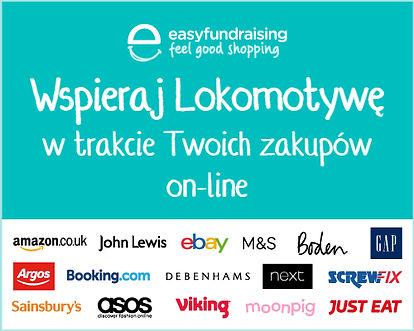 Wspieraj Lokomotywę w trakce Twoich zakupów on-line!