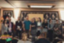 Jurorzy i Zespół Lokomotywy: Emilka, Albert Opolski, Rafał, Piotr Słonina, Grażyna Herbut, Marta, Agnieszka Opolska, Małgorzat Wiśniewska, Elżbieta Smykla
