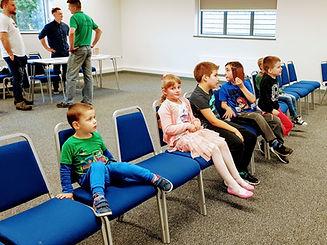 Dzieci Ci po raz kolejny mogły obejrzeć ulubione filmy animowane wyświetlane na dużym telewizorze.