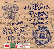 """Koncet """"Historia Polki w nutach zapisana"""" - plakat 2"""