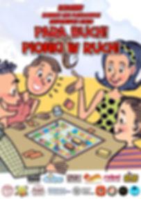 Para buch! Pionki w ruch! rodzinny konwent fanów gier planszowych, zespołowych i retro w Northampton